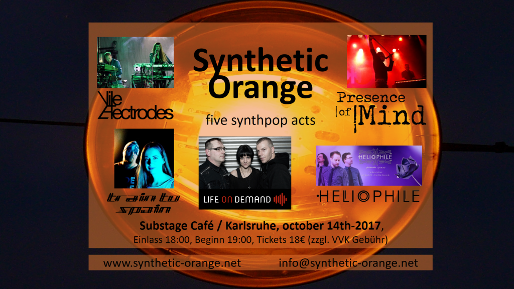 Synthetic Orange comes to town