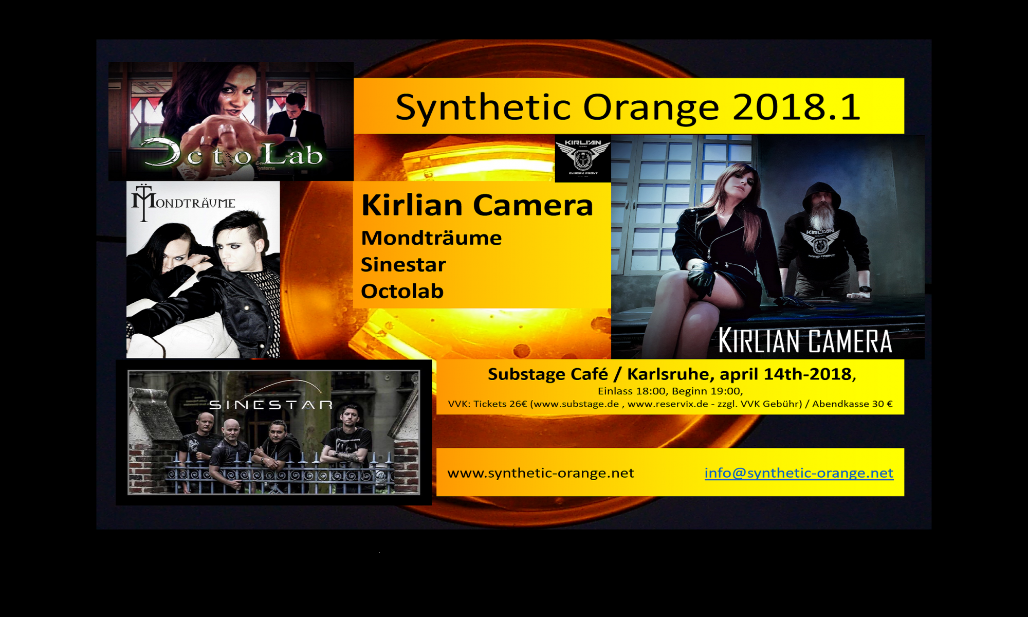 SYNTHETIC ORANGE 2018