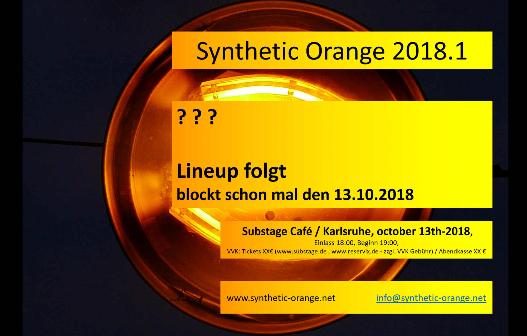 SYNTHETIC ORANGE 2018