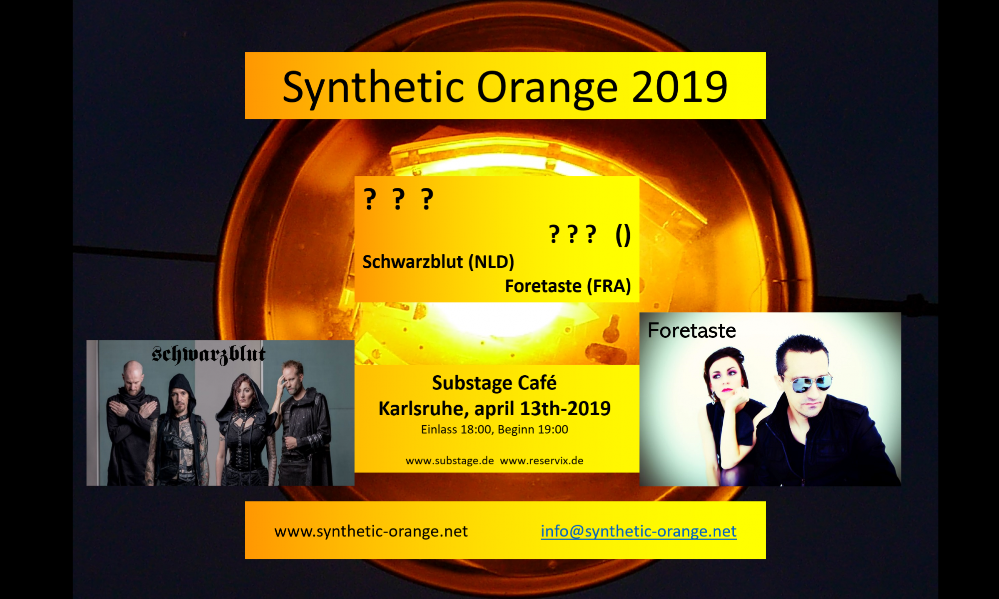 SYNTHETIC ORANGE 2019